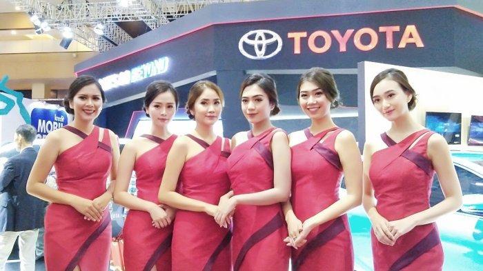 Toyota Bukukan 3.098 Unit SPK Selama Delapan Hari Pameran di Telkomsel IIMS 2019