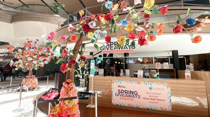 Spring Giveaways, Transaksi Rp1 Juta di Kota Kasablanka Bisa Dapat Voucher Hotel Bintang 5