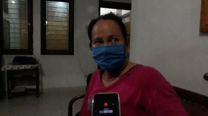 Sri Utami (40), korban penyalur jasa TKI ilegal yang ditampung di satu rumah di Pasar Rebo, Jakarta Timur, Rabu (23/12/2020).