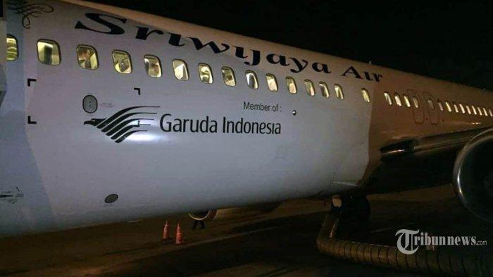 Terjerat Utang, Semua Pesawat Sriwijaya Air Pasang Logo Garuda Indonesia