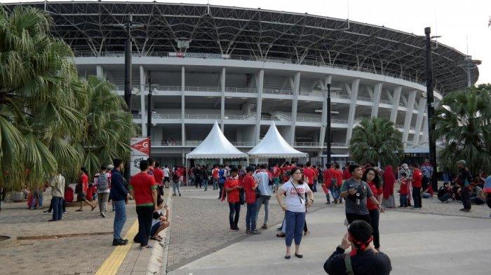 Hindari Penumpukan Penonton, Pintu Masuk Stadion Utama Gelora Bung Karno Dibuka Lebih Awal