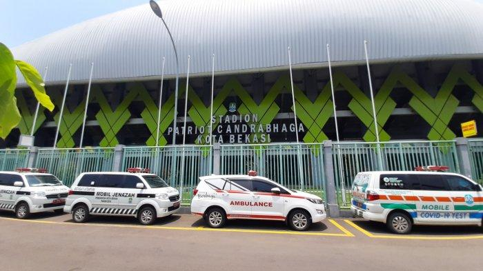 Jadi RS Darurat Covid-19, Stadion Patriot Bekasi Belum Bisa Gelar Laga Sepak Bola