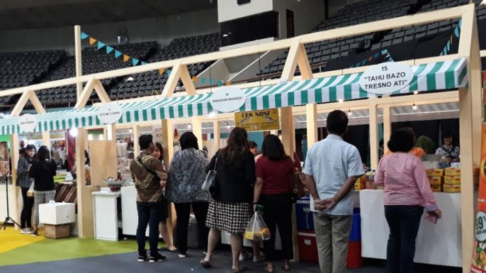 Berbagai Kuliner Nusantara Turut Meriahkan Crafina 2018 di Area Plenary Hall JCC