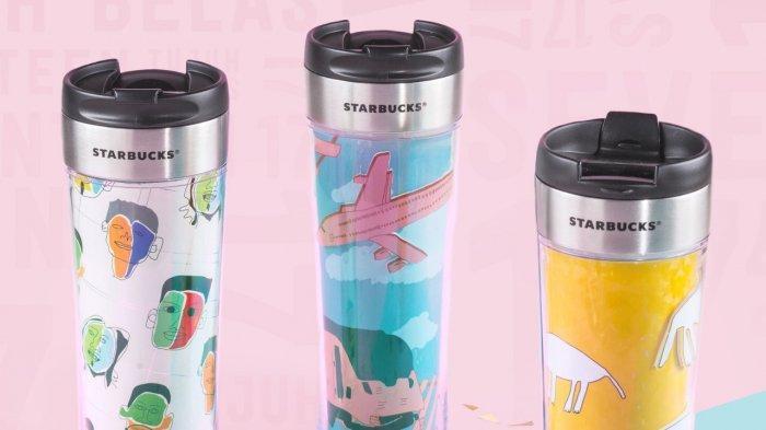 Intip 3 Desain Merchandise Official Starbucks Terbaru Hasil Kreator Difabel