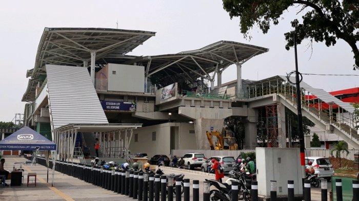 LRT Jakarta Rute Kelapa Gading-Velodrome Siap Beroperasi Bulan Depan