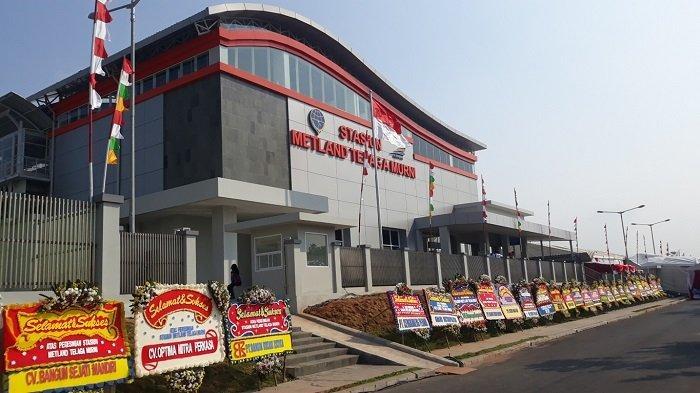 VIDEO Menhub Resmikan Stasiun KRL Baru di Bekasi