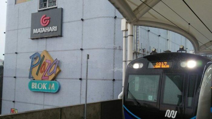 Kereta MRT Jakarta Sempat Alami Keterlambatan Akibat Kondisi Cuaca