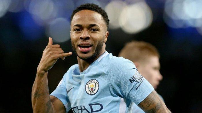 Hasil Liga Inggris: Manchester City Masih Perkasa Berkat Hattrick Sterling dalam 13 Menit