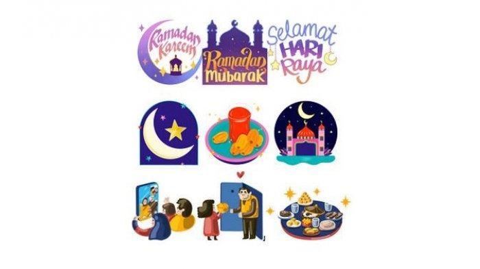 Stiker Facebook terbaru