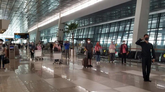 Sejumlah Fasilitas Transportasi di Bandara Soekarno-Hatta Belum Beroperasi Saat Pandemi Covid-19