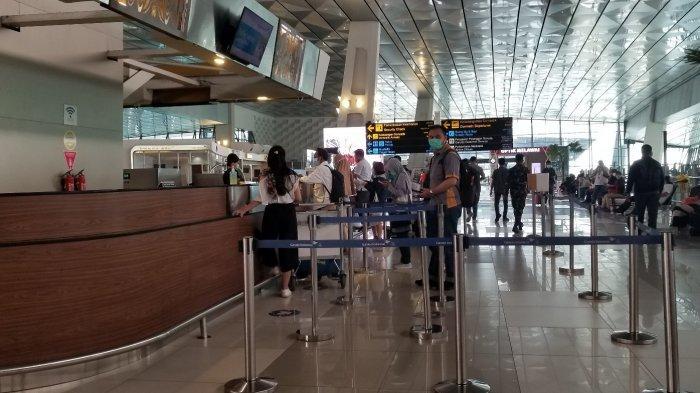 Ada Jalur Khusus Kaum Rentan Covid-19 di Terminal 3 Bandara Soekarno-Hatta