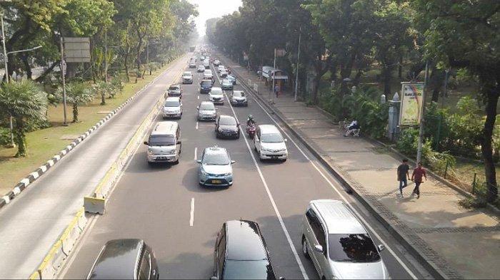 Sidang MK Selesai, Jalan Medan Merdeka Barat Menuju MH Thamrin Kembali Dibuka