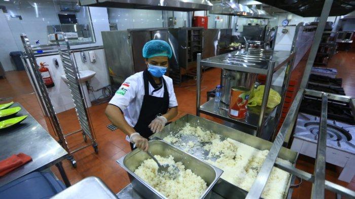 Menu Garang Asem, Tempe Bacem Untuk Jemaah Haji Asal Solo, Intip Suasana Dapur Produksi Makanannya!
