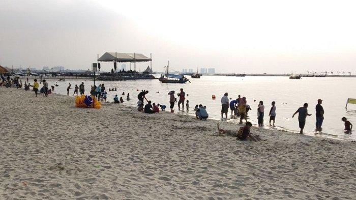 H+1 Momen HUT RI, 37 Ribu Pengunjung Kunjungi Ancol Hingga Sore Hari