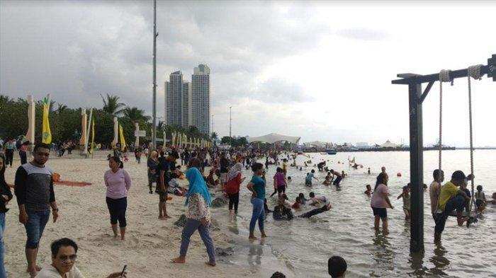 Pengunjung Ancol Tembus 100 Ribu Orang saat H+3 Lebaran