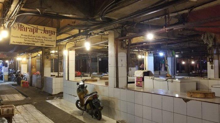Pedagang Daging Sapi di Pasar Anyar Tangerang Mogok Jualan