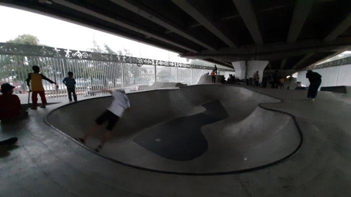 Sudah Dibuka Untuk Umum, Skatepark di Pasar Rebo Jakarta Timur Masih Miliki Kekurangan