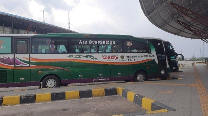 Jumlah Penumpang Bus AKAP di Terminal Pulo Gebang Menurun Drastis Sejak Penerapan PPKM Darurat