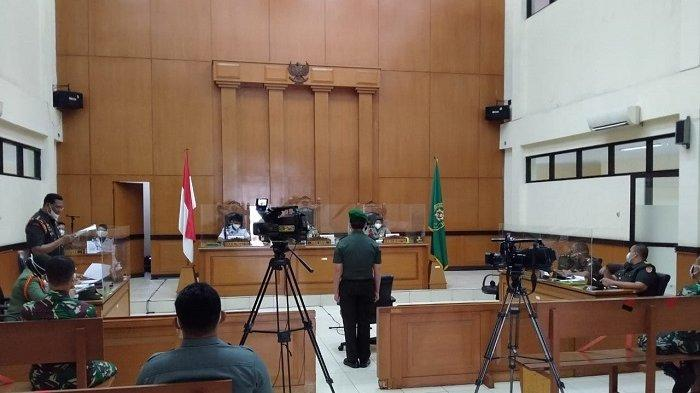 Pengadilan MiliterII-08 Jakarta Bacakan Vonis Prada Ilham, Terdakwa Perusak Polsek Ciracas 29 April