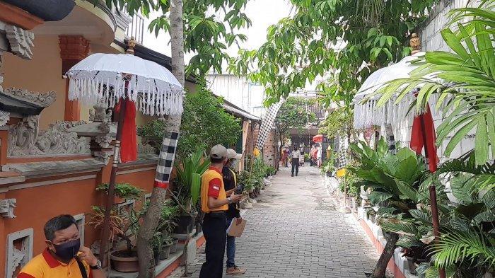 Suasana Kampung Bali di RT11/RW09, Kelurahan Harapan Jaya, Kecamatan Bekasi Utara, Kota Bekasi.
