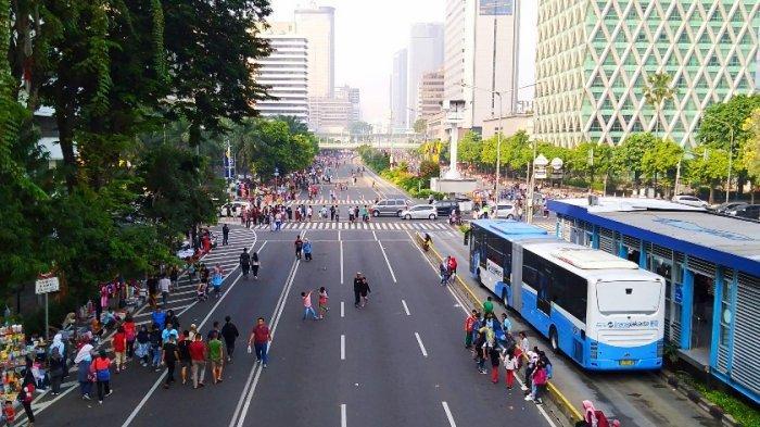 Besok, Jalur Sepeda di Car Free Day Jalan Sudirman-Thamrin Akan Diperlebar
