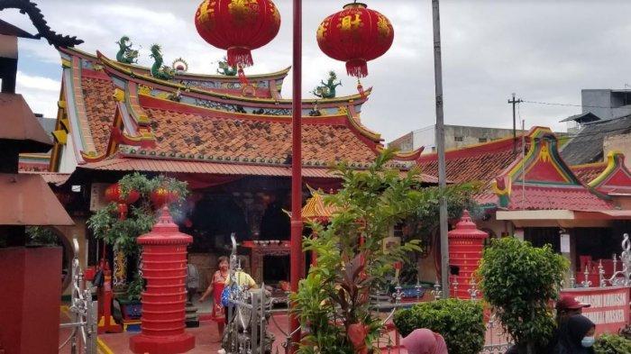 Skema Ibadah Imlek di Kelenteng Berusia Ratusan Tahun di Tangerang, Sistem Buka Tutup