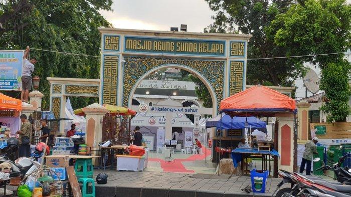 Sehari Sebelum Kericuhan 21 Mei, Puluhan Bus Massa Aksi Terparkir di Masjid Sunda Kelapa