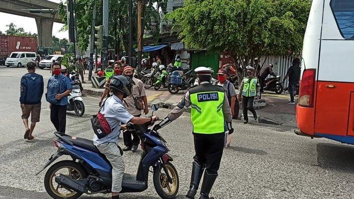 Hari Pertama Operasi Zebra di Jakarta Utara, Tiga Ruas Jalan Ini Jadi Sasaran Polantas