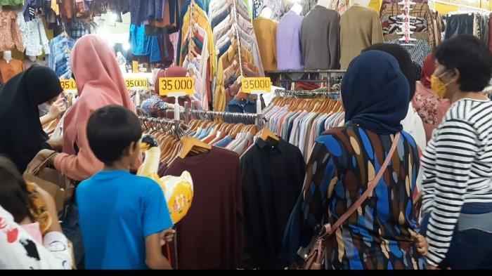 2 Minggu Jelang Idul Fitri, Warga Mulai Berburu Baju Lebaran di Pasar Anyar Bogor - suasana-pasar-anyar-bogor-2.jpg