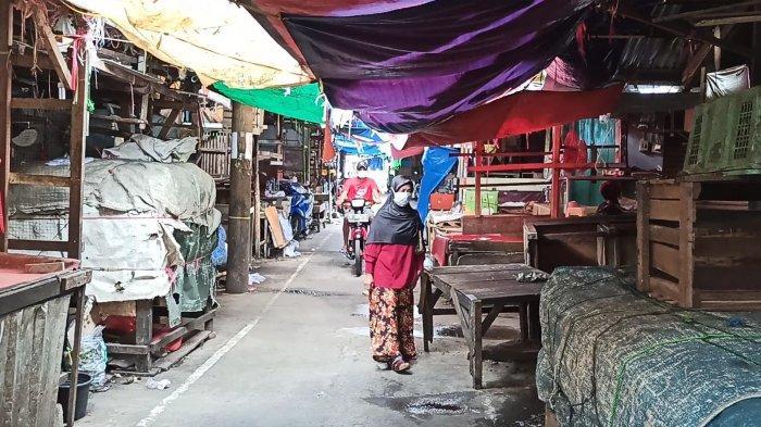 BREAKING NEWS Dua Pedagang Positif, Pasar Bambu Kuning di Sunter Agung Ditutup Sementara