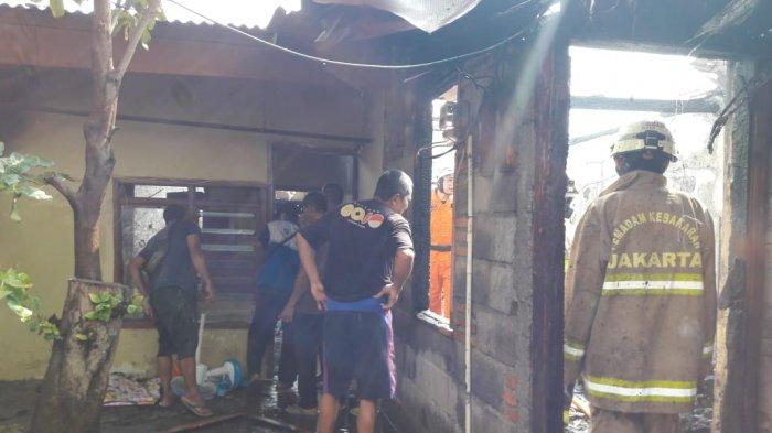 Akibat Korsleting Listrik, 6 Kontrakan dan 2 Rumah di Cakung Jakarta Timur Alami Kebakaran