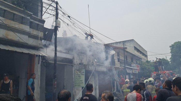Video Kebakaran Warung Soto Lamongan di Sawah Besar, Polisi Duga Sumbernya Korsleting Listrik