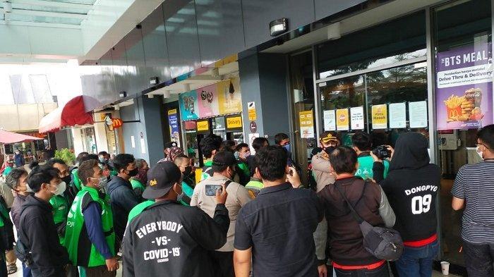 Antisipasi Kerumunan BTS Meal, Polisi Sarankan Perusahaan Ojol Stop Sementara Layanan Antar Makanan