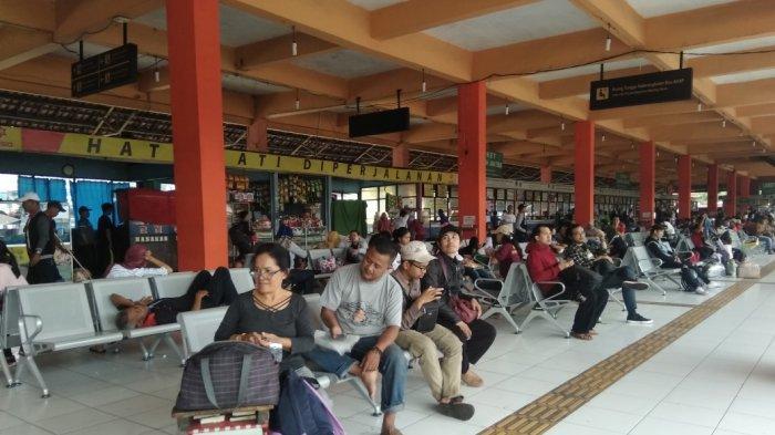 Tahun Ini, Pemudik di Terminal Kampung Rambutan Didominasi Tujuan Sumatera