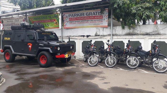 Pengamanan Sidang Praperadilan Rizieq Shihab Hari ke-3: Mobil Gegana hingga Anjing Pelacak