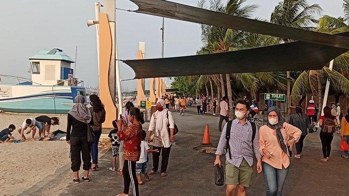 Jelang Pengetatan PSBB, Taman Impian Jaya Ancol Dikunjungi Belasan Ribu Pengunjung