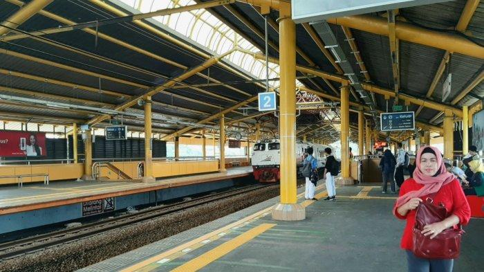 Penjelasan Camat Menteng Stasiun Gondangdia Menjadi Atensi Operasi Razia Masker