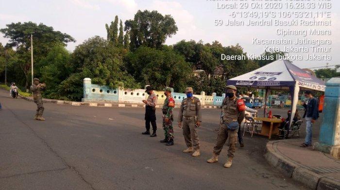 Kasus Covid-19 di DKI Tinggi, Pelanggar Razia Masker di Jakarta Timur Tembus 486 Orang