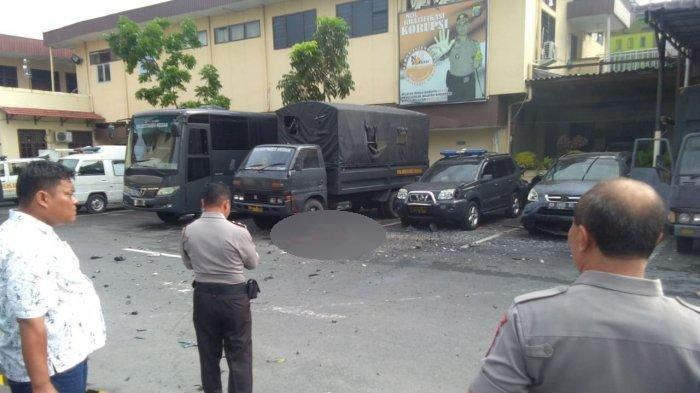 Polisi Temukan Gubuk Diduga Lokasi Tempat Rabbial Bomber Polrestabes Medan Rakit Bahan Peledak