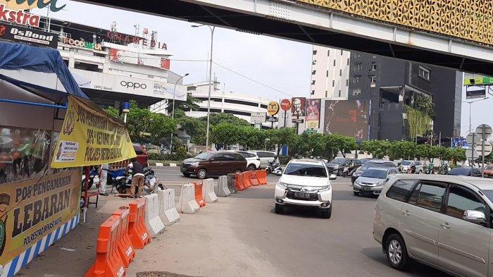 Hari Pertama Larangan Mudik, Sejumlah Kendararaan di Kota Bekasi Disuruh Putar Balik