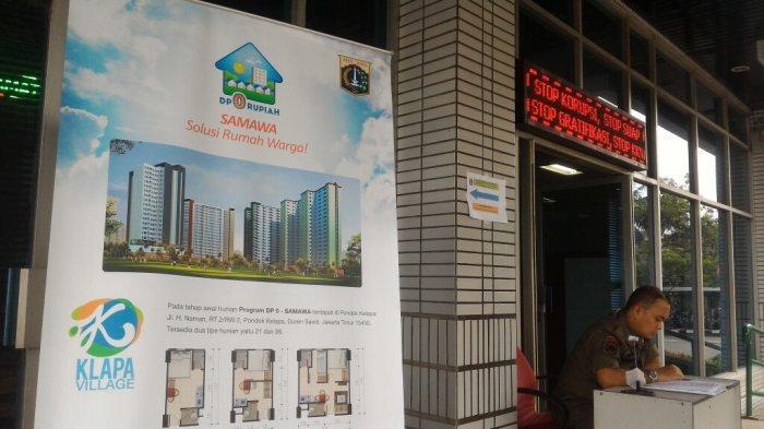 Jelang Penutupan Pendaftaran Dp Rumah 0 Persen, Deny Sambangi PTSP Wali Kota Jakut
