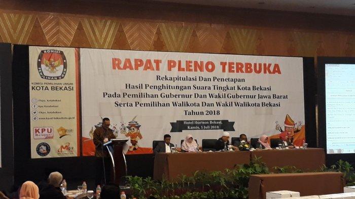 Tingkat Partisipasi Pilkada Serentak di Kota Bekasi Capai 73 Persen