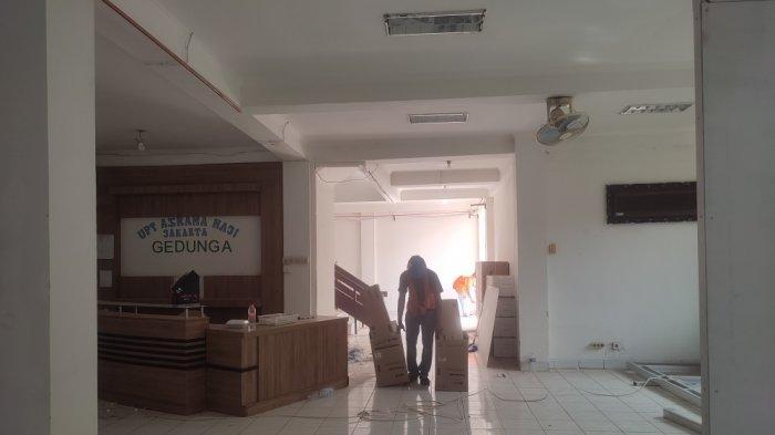 Jadi Tempat Isolasi Mandiri, Persiapan di Asrama Haji Pondok Gede Masih Terus Dilakukan