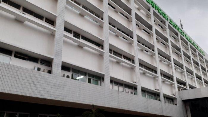Suasana Rumah Sakit Pusat Angkatan Darat (RSPAD) Gatot Subroto, Jakarta Pusat, Senin (19/10/2020).