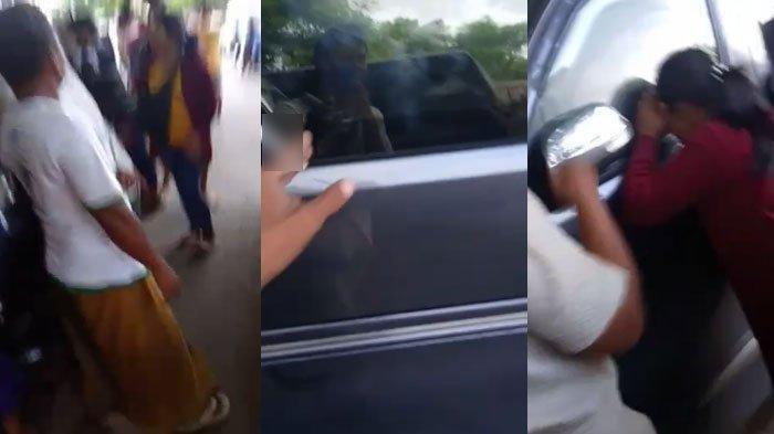 Wanita Bersuami Berstatus ASN yang Mesum di Mobil Goyang Ditetapkan Sebagai Tersangka