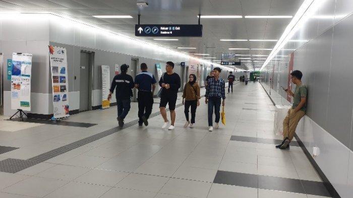 Mati Lampu Sejak Pukul 11.50 WIB, 4 Kereta MRT Berhenti di antara Stasiun Bawah Tanah