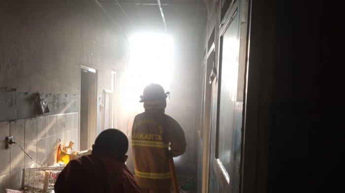 Minimarket di Kebayoran Lama Jakarta Selatan Terbakar Diduga Gara-gara Genset