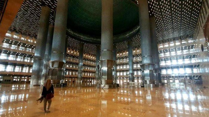 Renovasi Masjid Istiqlal 100 Persen Rampung, Shalat Idul Adha Berjamaah Belum Digelar