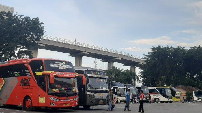 Belum Ada Lonjakan Arus Balik, Pengojek di Terminal Kampung Rambutan Mengeluh