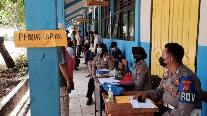 Tiga Hari Berjalan, 697 Warga RW Padat Penduduk di Kelurahan Tanjung Priok Divaksin Covid-19